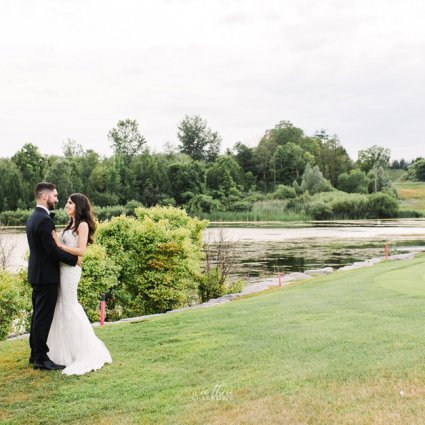 Thumbnail for Jessica and Christopher's Classic White-and-Green Wedding at …