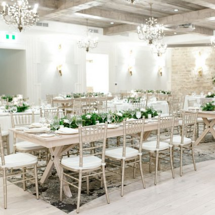 Elora Mill Hotel & Spa featured in Jenny and Cal's Cozy Wedding at Elora Mill