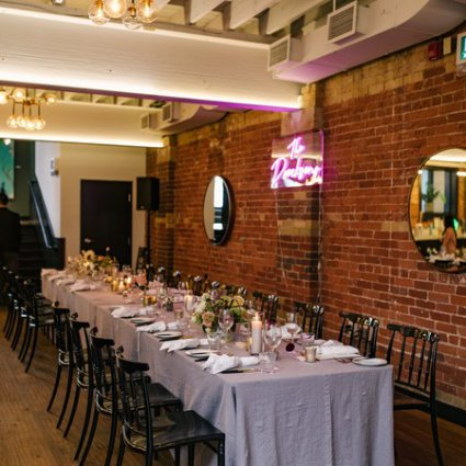 Patchouli Floral Design featured in Ashley and Keaton's Romantic Wedding at the Broadview Hotel