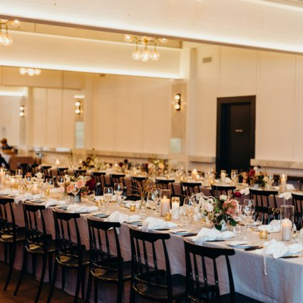 Linen Closet featured in Ashley and Keaton's Romantic Wedding at the Broadview Hotel