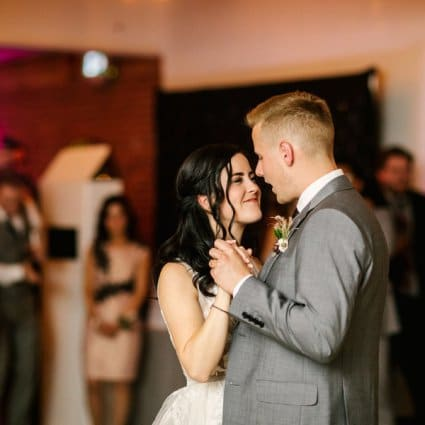 Impact DJ featured in Ashley and Keaton's Romantic Wedding at the Broadview Hotel