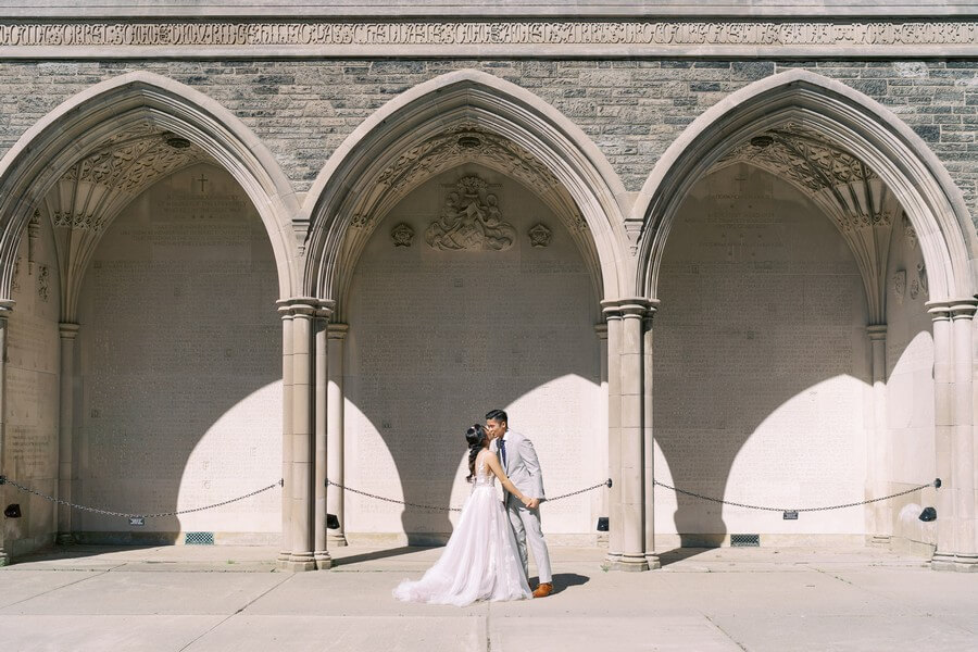 sweet toronto wedding