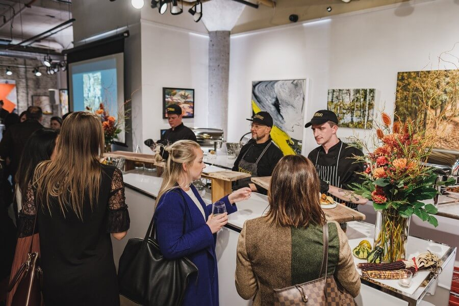 a warm fall open house at arta gallery, 25