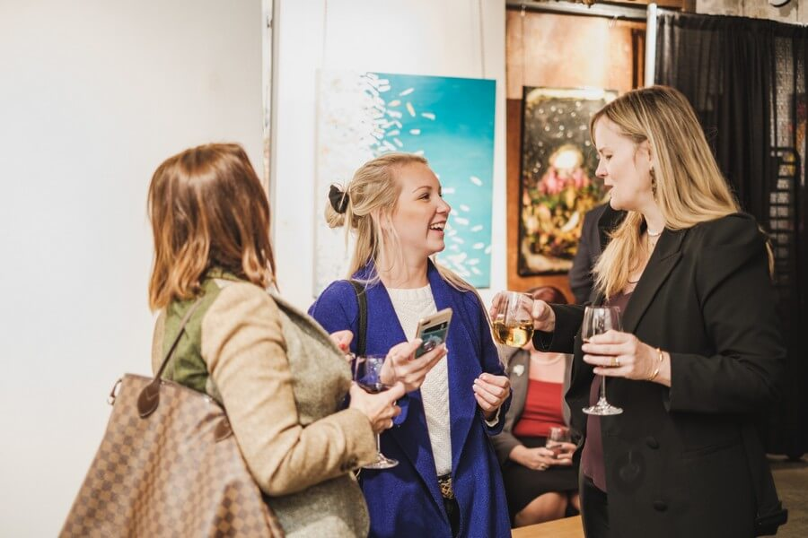 a warm fall open house at arta gallery, 29