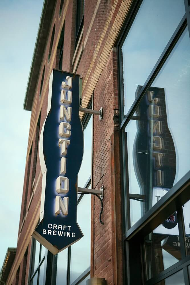 industry night and brand reveal at junction craft brewing, 1