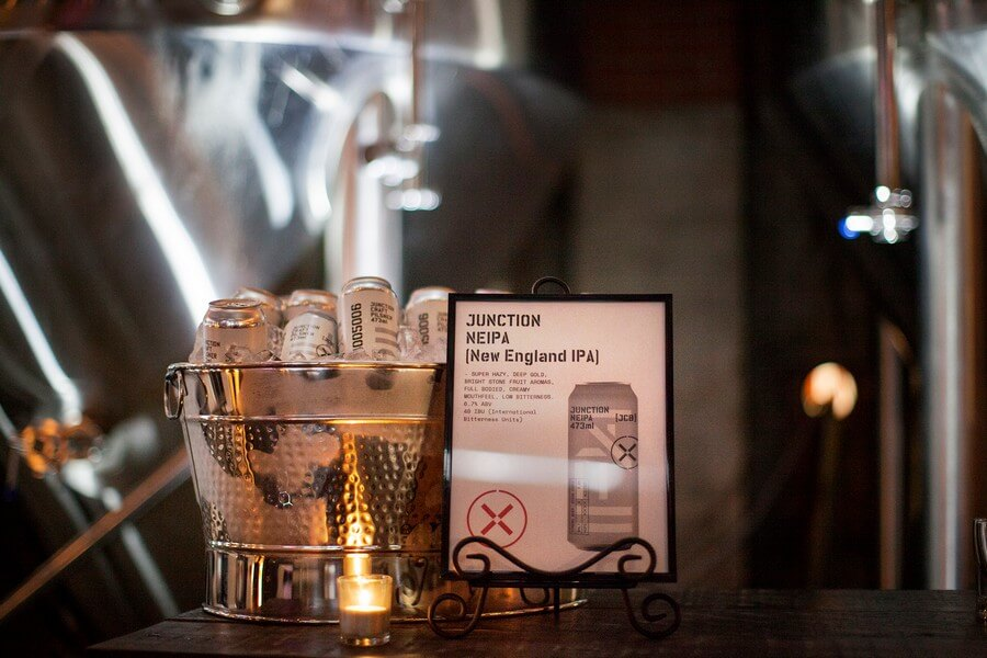 industry night and brand reveal at junction craft brewing, 9