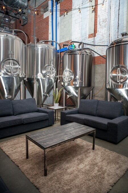 industry night and brand reveal at junction craft brewing, 2