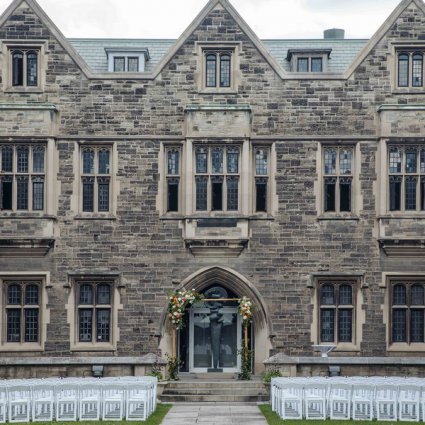 """Blue Lavender Events featured in Shelby and Sean Say """"I Do"""" at Toronto's Stunning Hart House"""