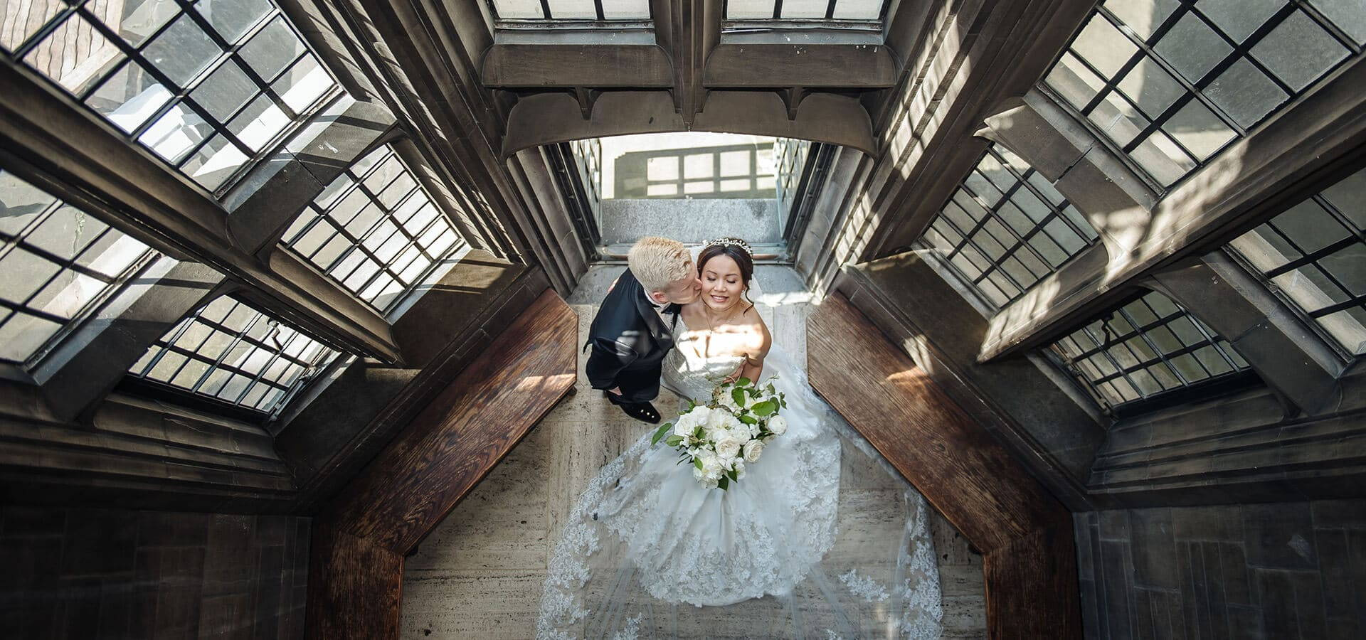 """Hero image for Shelby and Sean Say """"I Do"""" at Toronto's Stunning Hart House"""