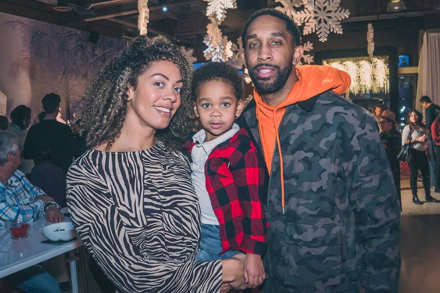 a festive industry holiday party at the symes, 31