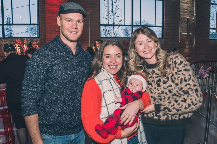 a festive industry holiday party at the symes, 32