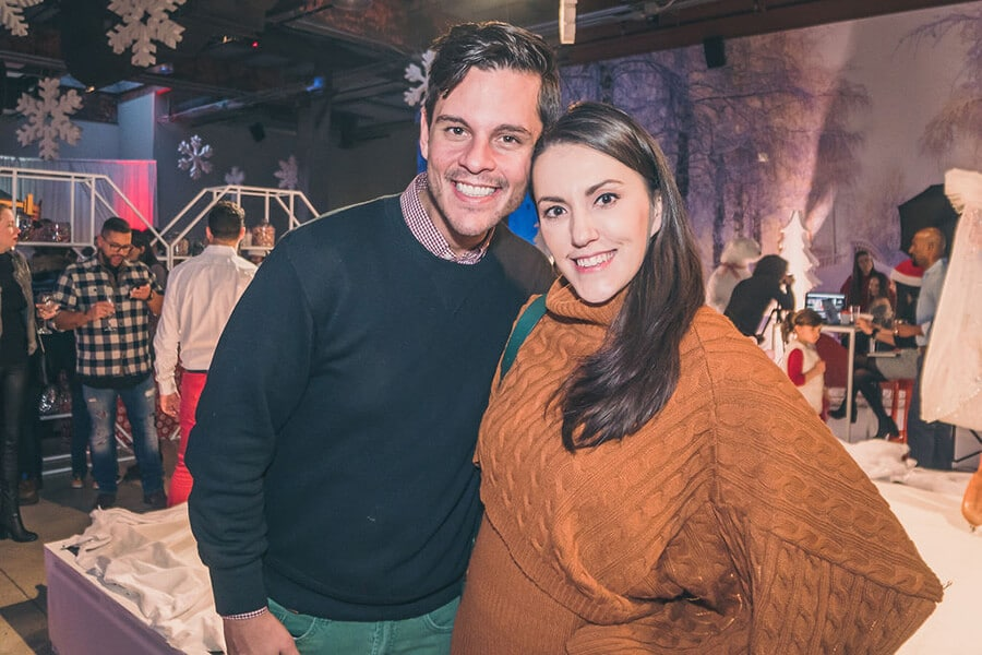 a festive industry holiday party at the symes, 33