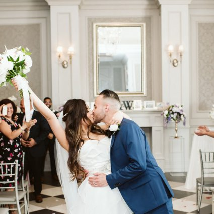 Hazelton Manor featured in Winnie and Kevin's Organic-yet-Glam Wedding at the Hazelton M…