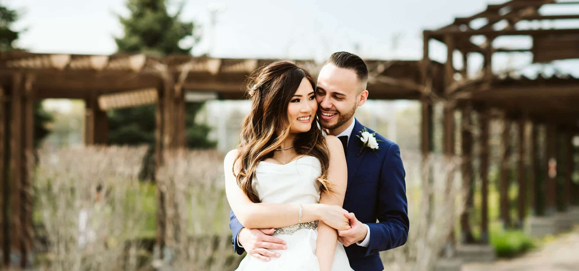 Hero image for Winnie and Kevin's Organic-yet-Glam Wedding at the Hazelton Manor