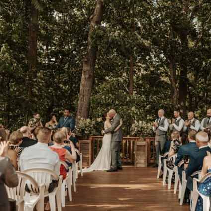 As You Wish Weddings featured in Sarah and Ross' Darling Wedding at the Glenerin Inn & Spa