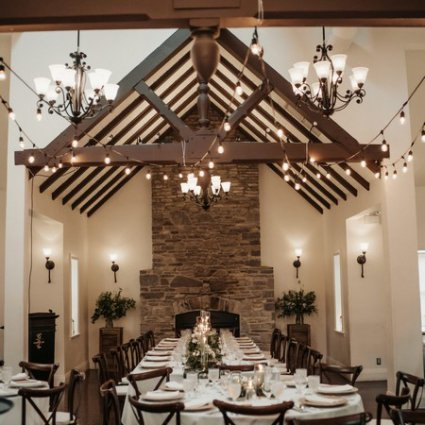 Majestic Chair Boutique featured in Sarah and Ross' Darling Wedding at the Glenerin Inn & Spa