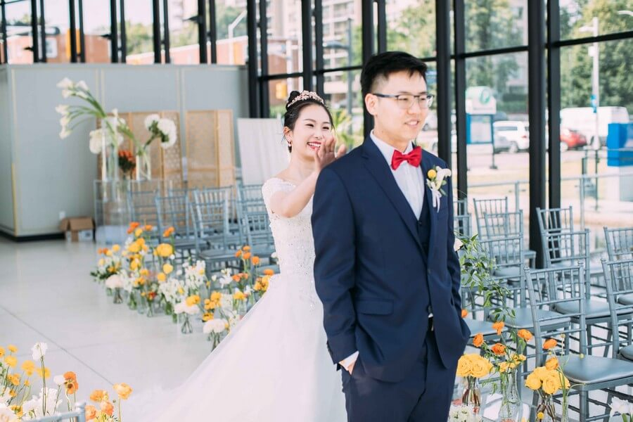 Wedding at Spencer's at the Waterfront, Burlington, Ontario, White by LaMemoir, 15