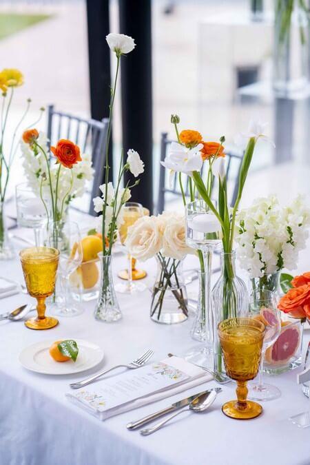 Citrus Infused Wedding