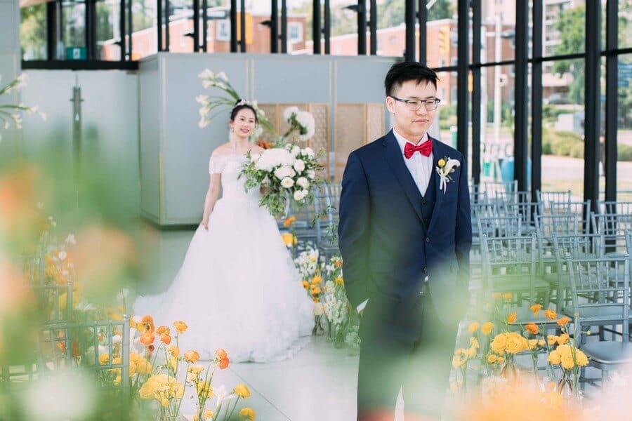 Wedding at Spencer's at the Waterfront, Burlington, Ontario, White by LaMemoir, 14