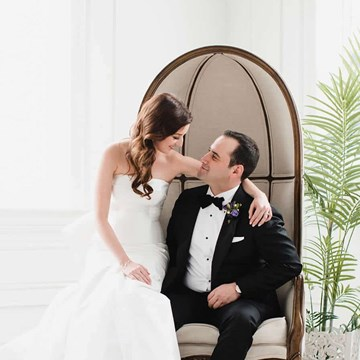 Renée and Aaron's Beautiful Wedding at the Grand Luxe Event Boutique