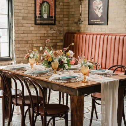 Balzac's Café - Powerhouse featured in A Rustic-Chic Style Shoot Turned Intimate Elopement at Balzac…