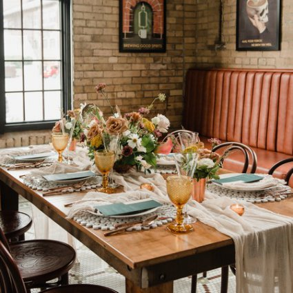 Bellwood Blooms featured in A Rustic-Chic Style Shoot Turned Intimate Elopement at Balzac…