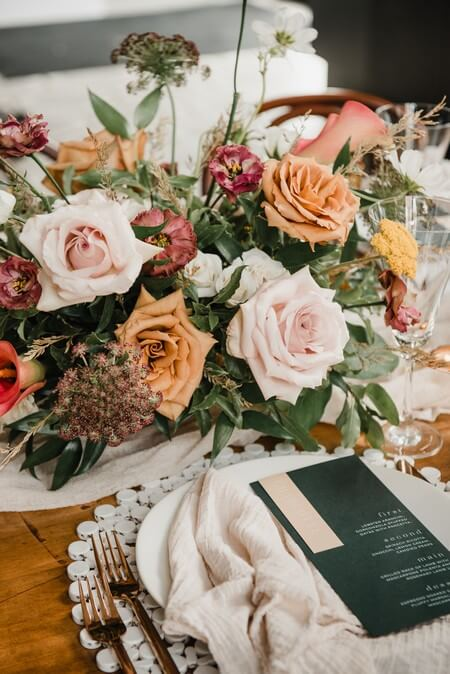 a rustic chic style shoot turned intimate elopement at balzacs powerhouse, 17