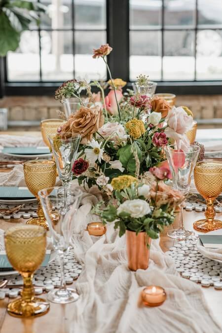 a rustic chic style shoot turned intimate elopement at balzacs powerhouse, 18