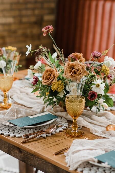 a rustic chic style shoot turned intimate elopement at balzacs powerhouse, 21