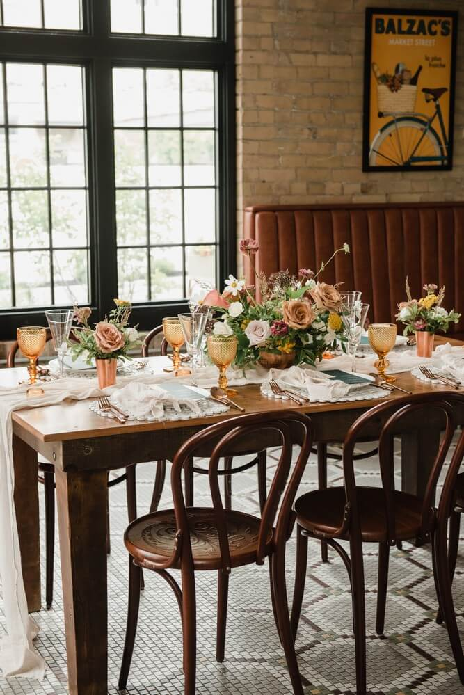 a rustic chic style shoot turned intimate elopement at balzacs powerhouse, 19