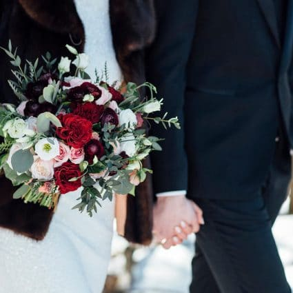 Thumbnail for Susan and Robert's Elegant Winter Wedding at Chateau Le Parc