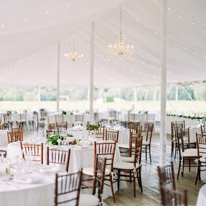 Simply Beautiful Decor featured in Rebecca and Daniel's Lovely Wedding at Kurtz Orchards