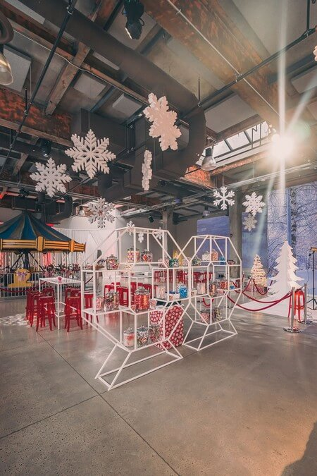 a festive industry holiday party at the symes, 25