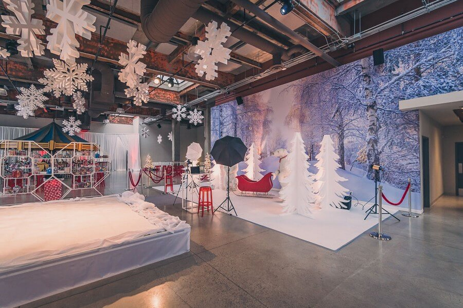 a festive industry holiday party at the symes, 22