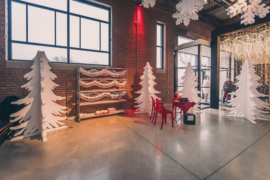 a festive industry holiday party at the symes, 24