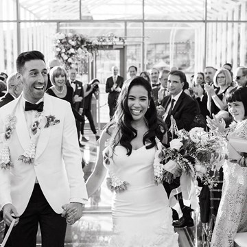 Anita and Corey's Classic White Wedding at Toronto's Hotel X