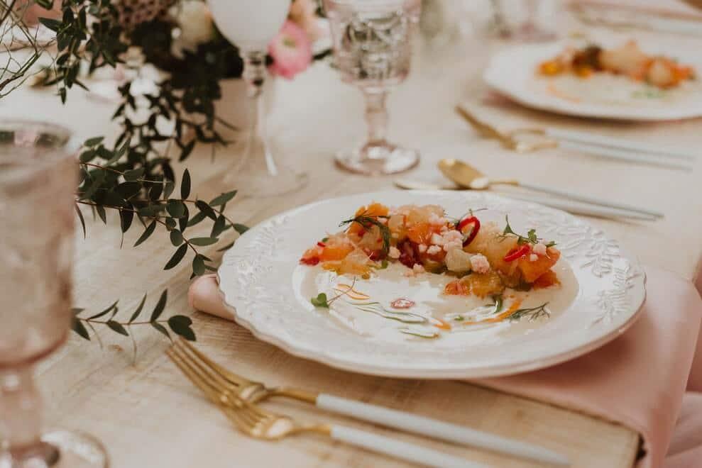 Crafting Your Wedding Menu