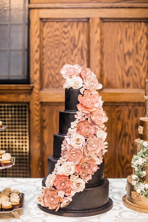 a wedding open house at the historic albany club, 16