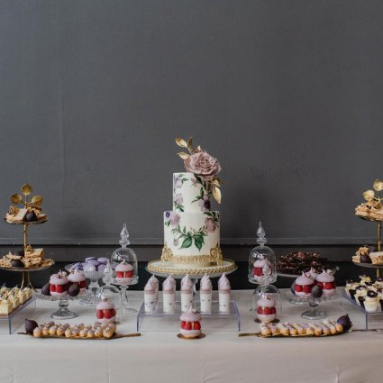 Nadia and Co featured in Daniela and Andrei's Sweet Wedding at Steam Whistle Brewery