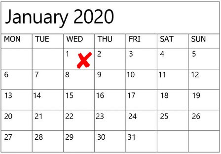 dates to avoid for weddings in 2020 2021, 1