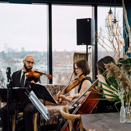 St. Royal Entertainment featured in The Very First Wedding Open House at The Broadview Hotel