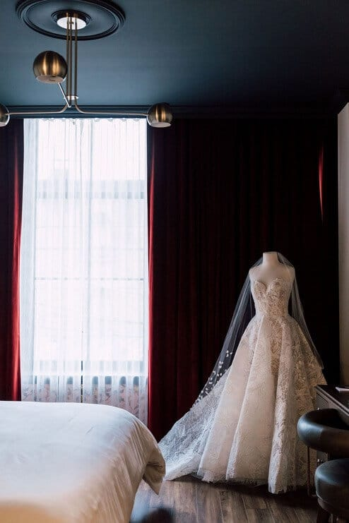 the very first wedding open house at the broadview hotel, 3