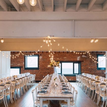 Event Rental Group featured in The Very First Wedding Open House at The Broadview Hotel