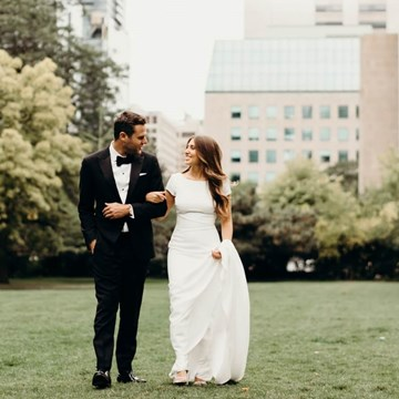 Sasha and Lorne's Colourful Wedding at Assembly Chef's Hall