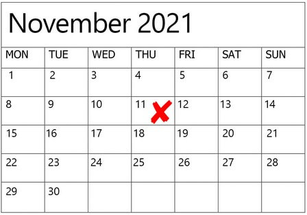 dates to avoid for weddings in 2020 2021, 10