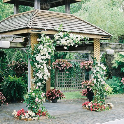 """Rainbow Chan Weddings and Events featured in Sonia and Chris Say """"I Do"""" at the Organic Madison Greenhouse"""