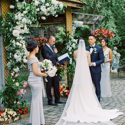 """Wedding Heaven featured in Sonia and Chris Say """"I Do"""" at the Organic Madsen's Banquet Hall"""