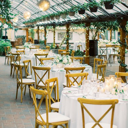 """The Madison Greenhouse Event Venue featured in Sonia and Chris Say """"I Do"""" at the Organic Madison Greenhouse"""