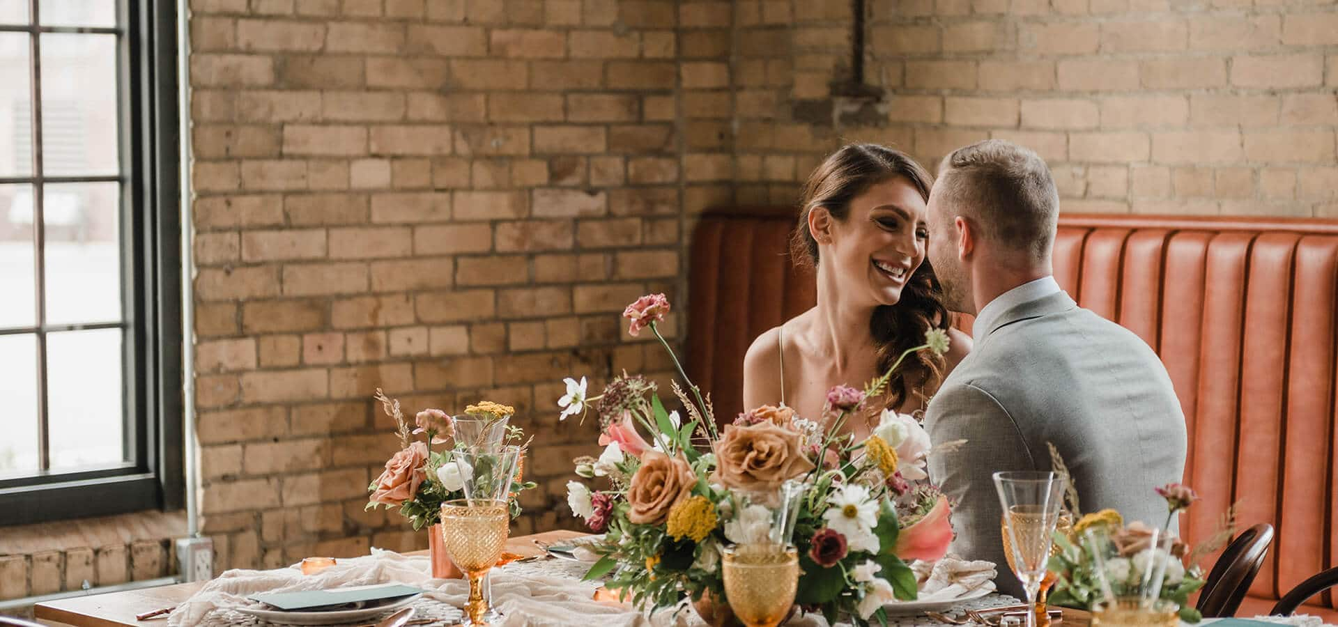 Hero image for A Rustic-Chic Style Shoot Turned Intimate Elopement at Balzac's Powerhouse
