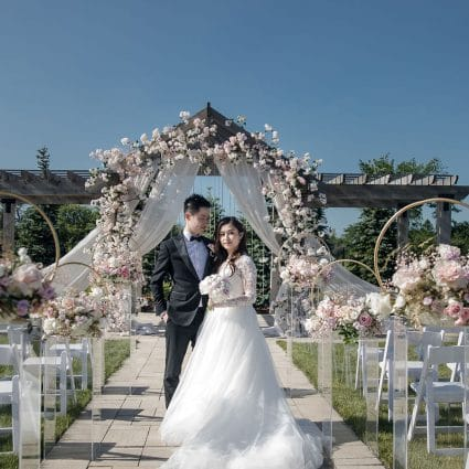 Yue's Cake Boutique featured in Angelina and Winter's Music Themed Wedding at Lundy Manor Win…